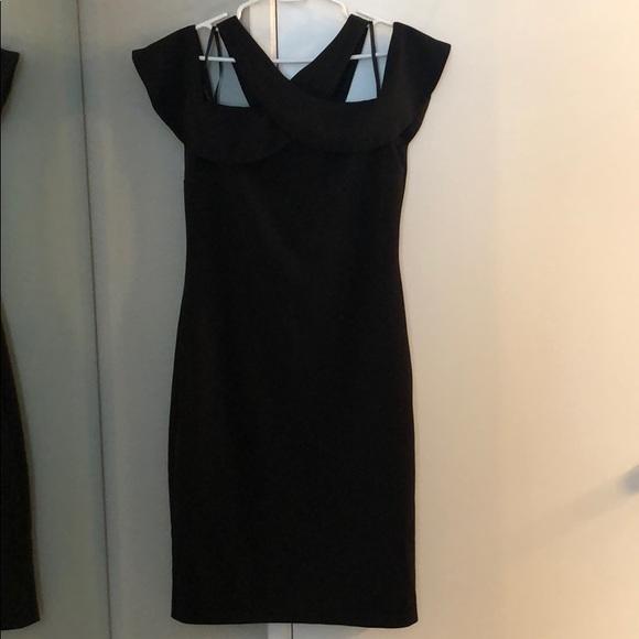 RACHEL Rachel Roy Dresses & Skirts - Black Cold Shoulder Dress